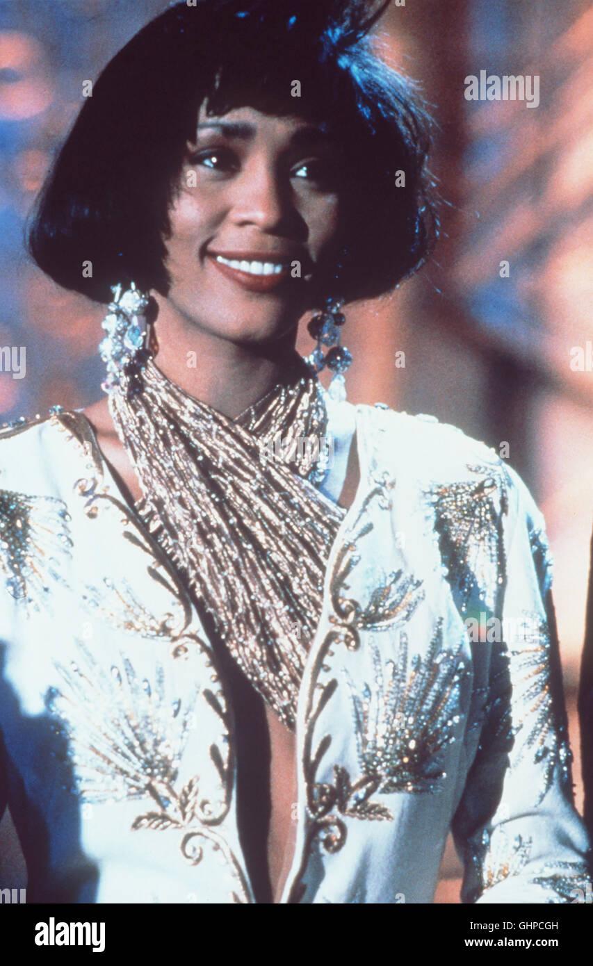 BODYGUARD USA 1992 - Mick Jackson Bodyguard Frank Farmer soll die berühmte Schauspielerin und Sängerin - Stock Image