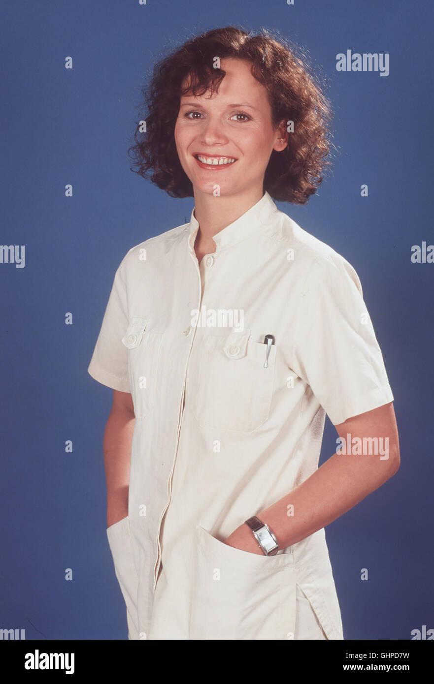Für alle Fälle Stefanie - Stefanny (JULIA HENTSCHEL) muß zwischen einem schwer angeschlagenen Spitzensportler - Stock Image