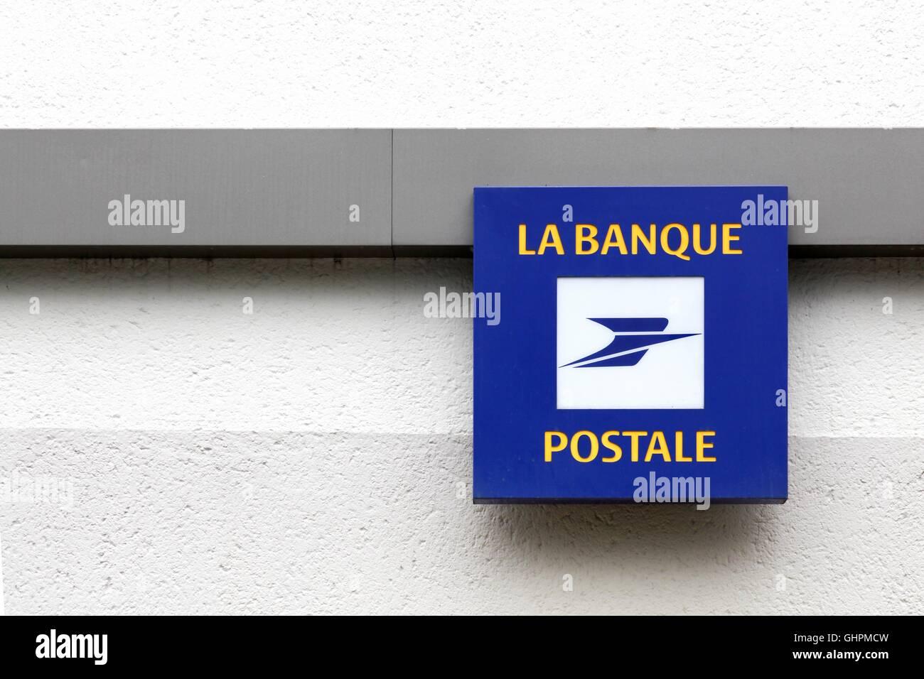 La Banque Postale France Stock Photos & La Banque Postale France Stock Images - Alamy