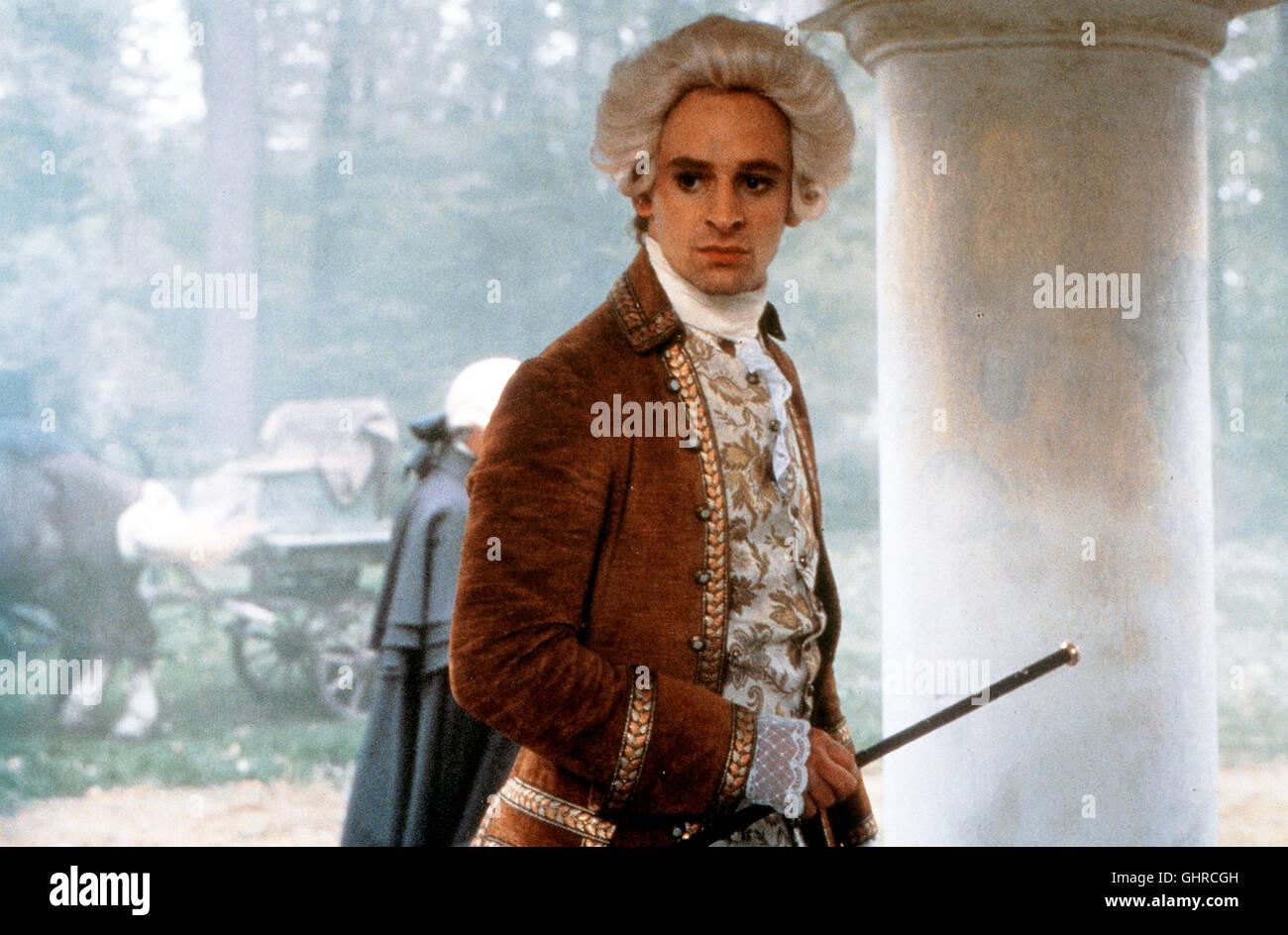 Vergesst Mozart 6.12.1791: Am Totenbett von Wolfgang Amadeus Mozart sind sieben Menschen versammelt - alle werden - Stock Image