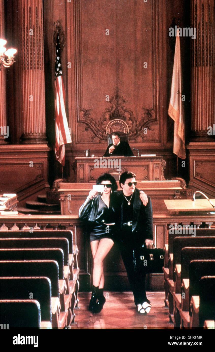Mein Vetter Winnie - Anwalt Winnie Gambini (JOE PESCI) aus New York wird von seinem Vetter Bill zu Hilfe gerufen. - Stock Image