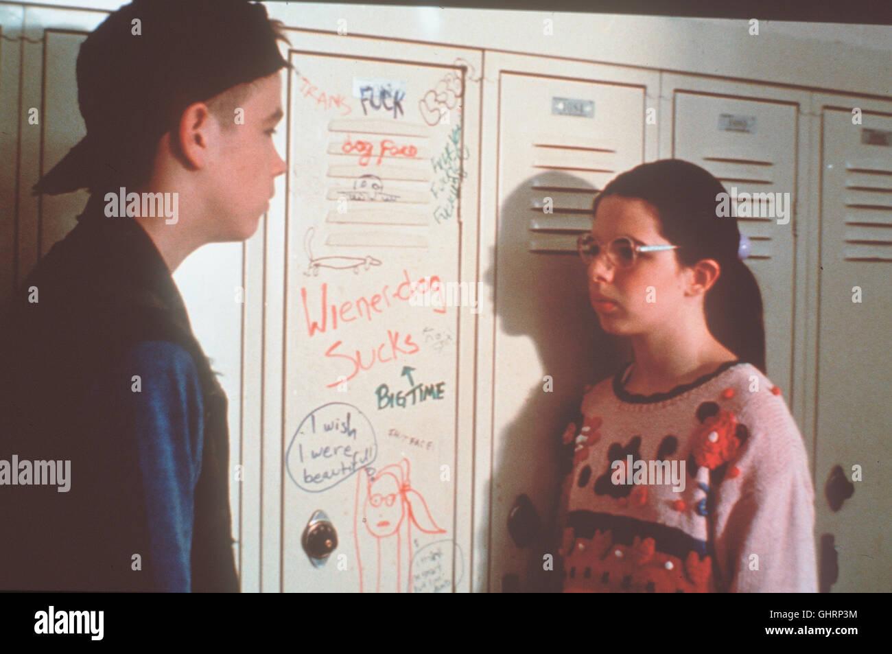 WILLKOMMEN IM TOLLHAUS- Die elfjährige Dawn Wiener (HEATHER MATARAZZO) ist ein Mauerblümchen mit Herz - Stock Image