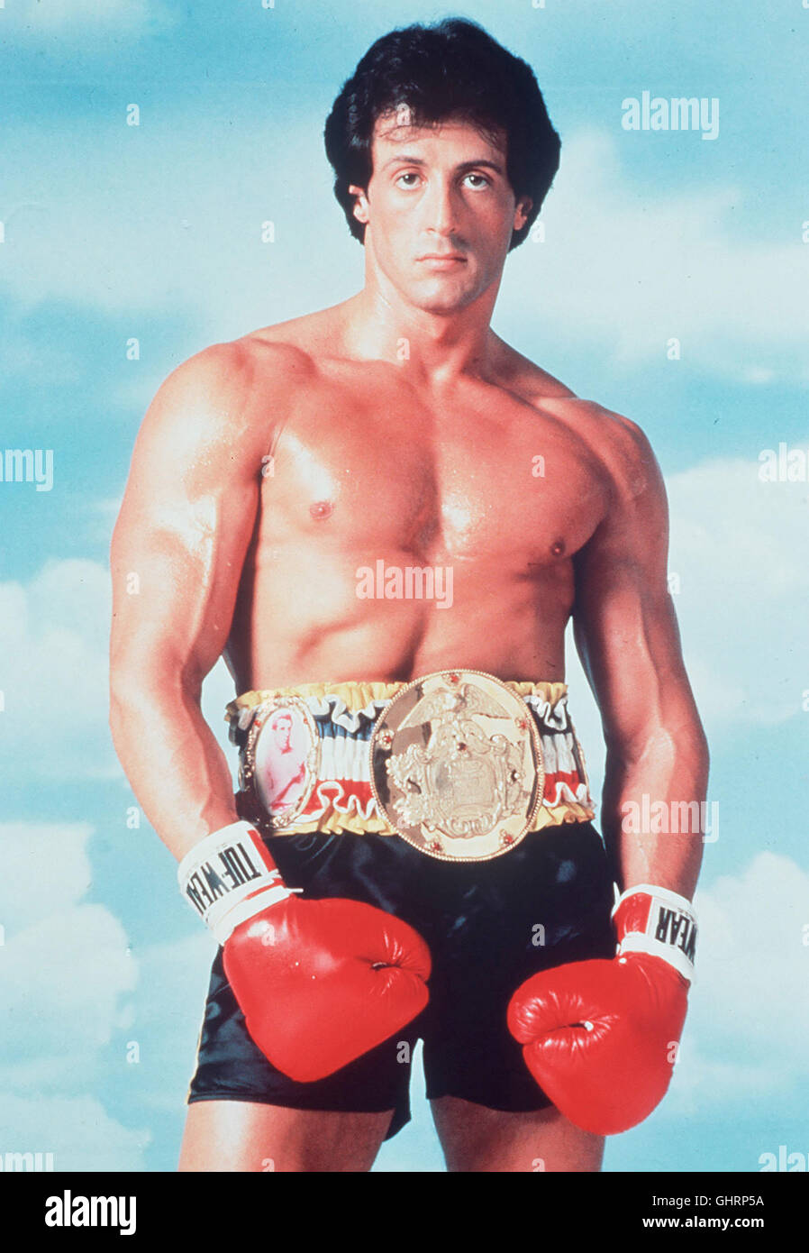 ROCKY III - DAS AUGE DES TIGERS SILVESTER STALLONE (Rocky Balboa) Regie: Sylvester Stallone aka. Rocky III - Stock Image