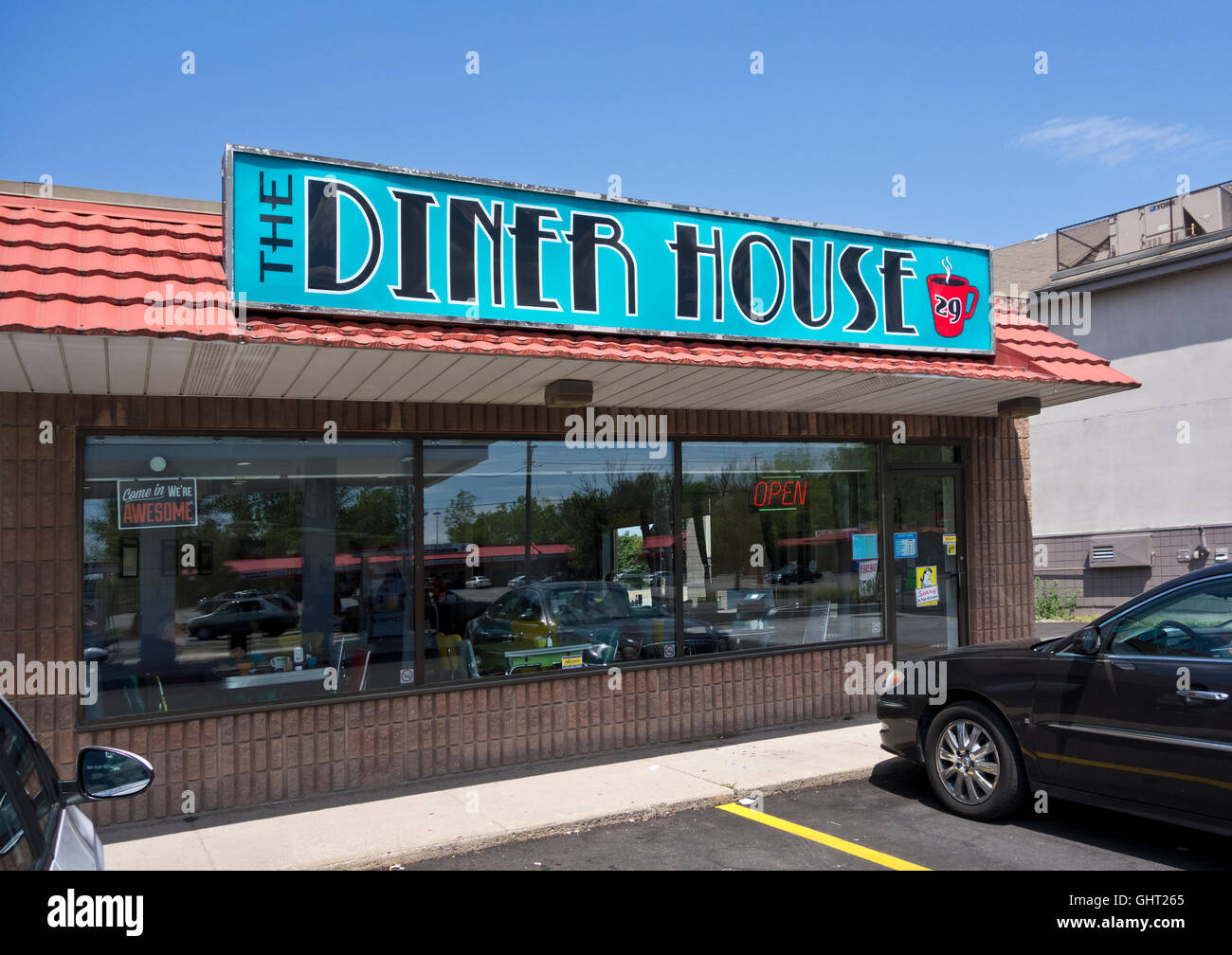The Diner House 29 Restaurant In St Catharines Ontario Exterior Stock Photo Alamy