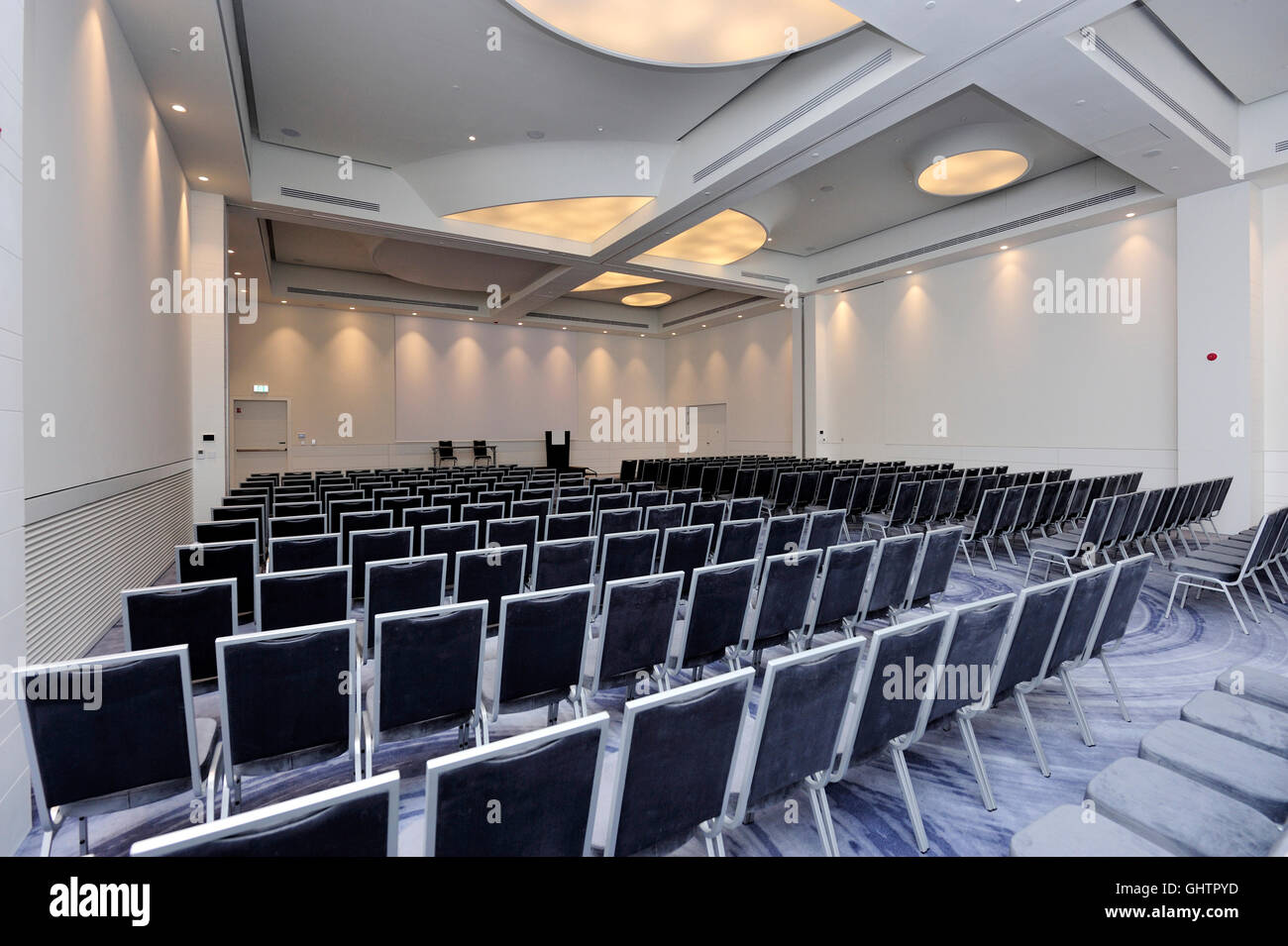 Wroclaw, Poland, 10th Aug, 2016. Wroclaw new hotel network DoubleTree by Hilton - are 1 hotel chain in Lower Silesia - Stock Image