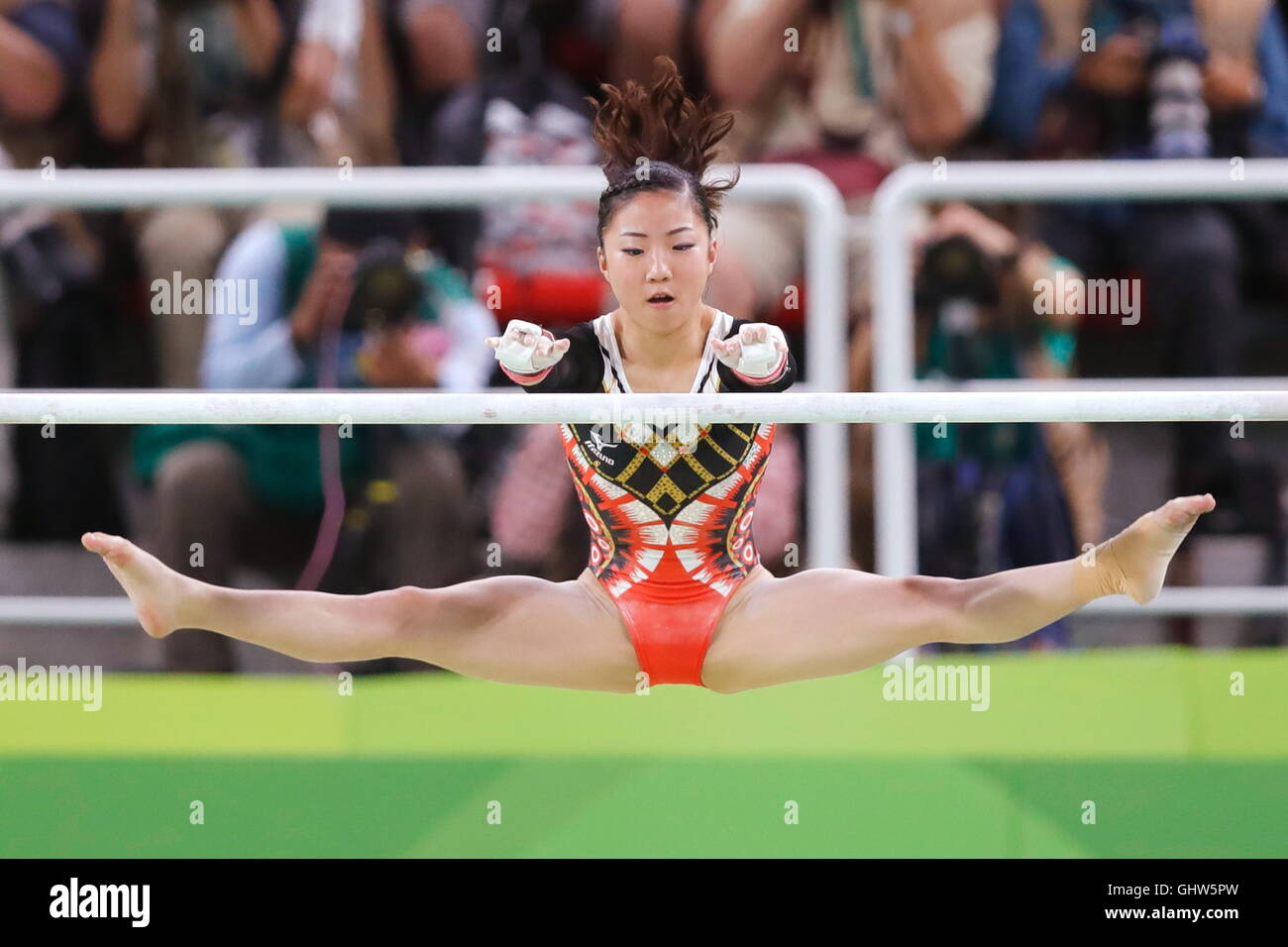 Rio de Janeiro, Brazil. 11th Aug, 2016. Asuka Teramoto (JPN) Artistic Gymnastics : Women's Individual All-Around - Stock Image