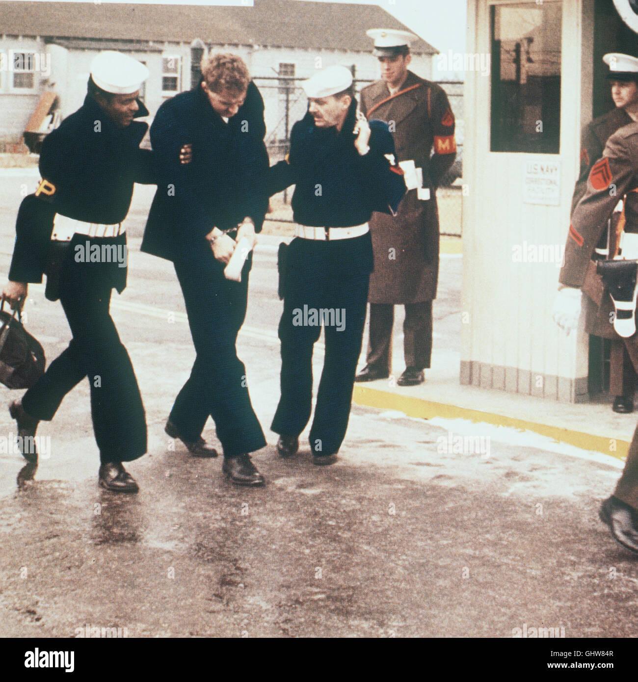 DAS LETZTE KOMMANDO- Auf seinem Weg ins Militärgefängnis wollen die hartgesottenen Berufssoldaten Buddusky - Stock Image