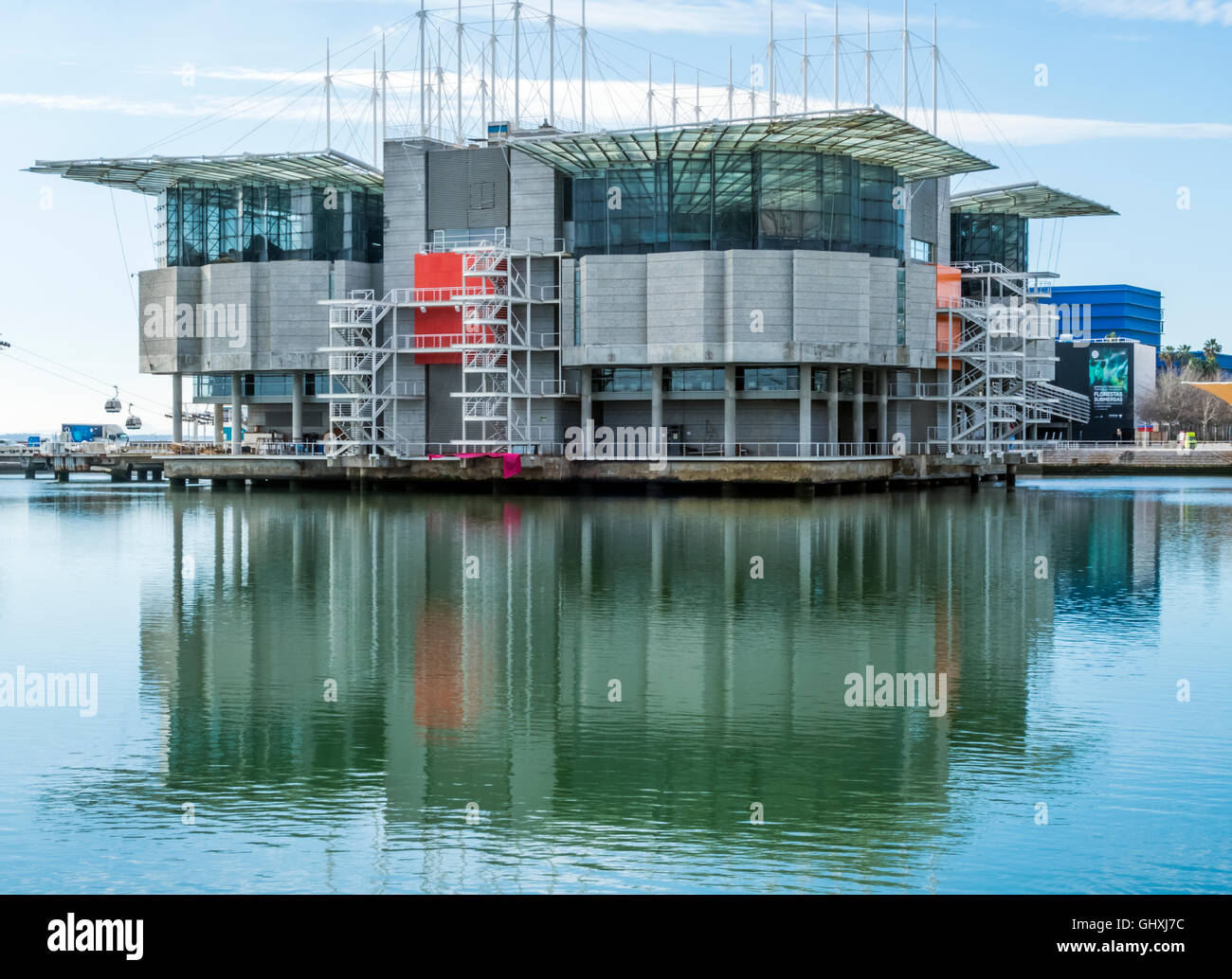 Lisbon Oceanarium - Stock Image