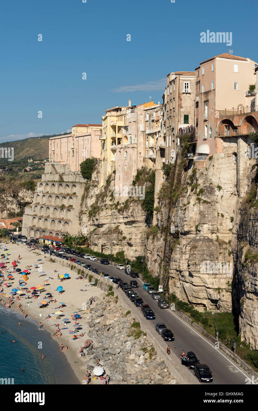Tropea, Calabria, Italy Stock Photo