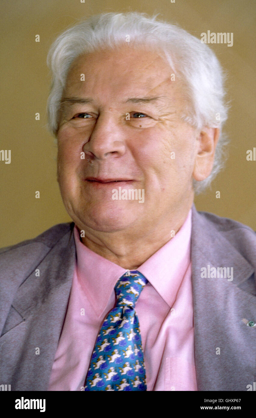 PETER USTINOV English actor - Stock Image
