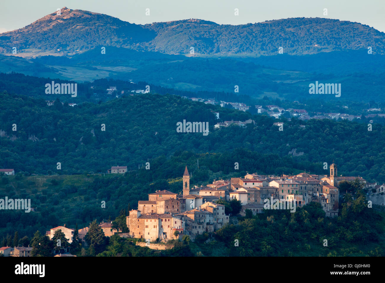 Seggiano, Province of Grosseto, Tuscany, Italy Stock Photo