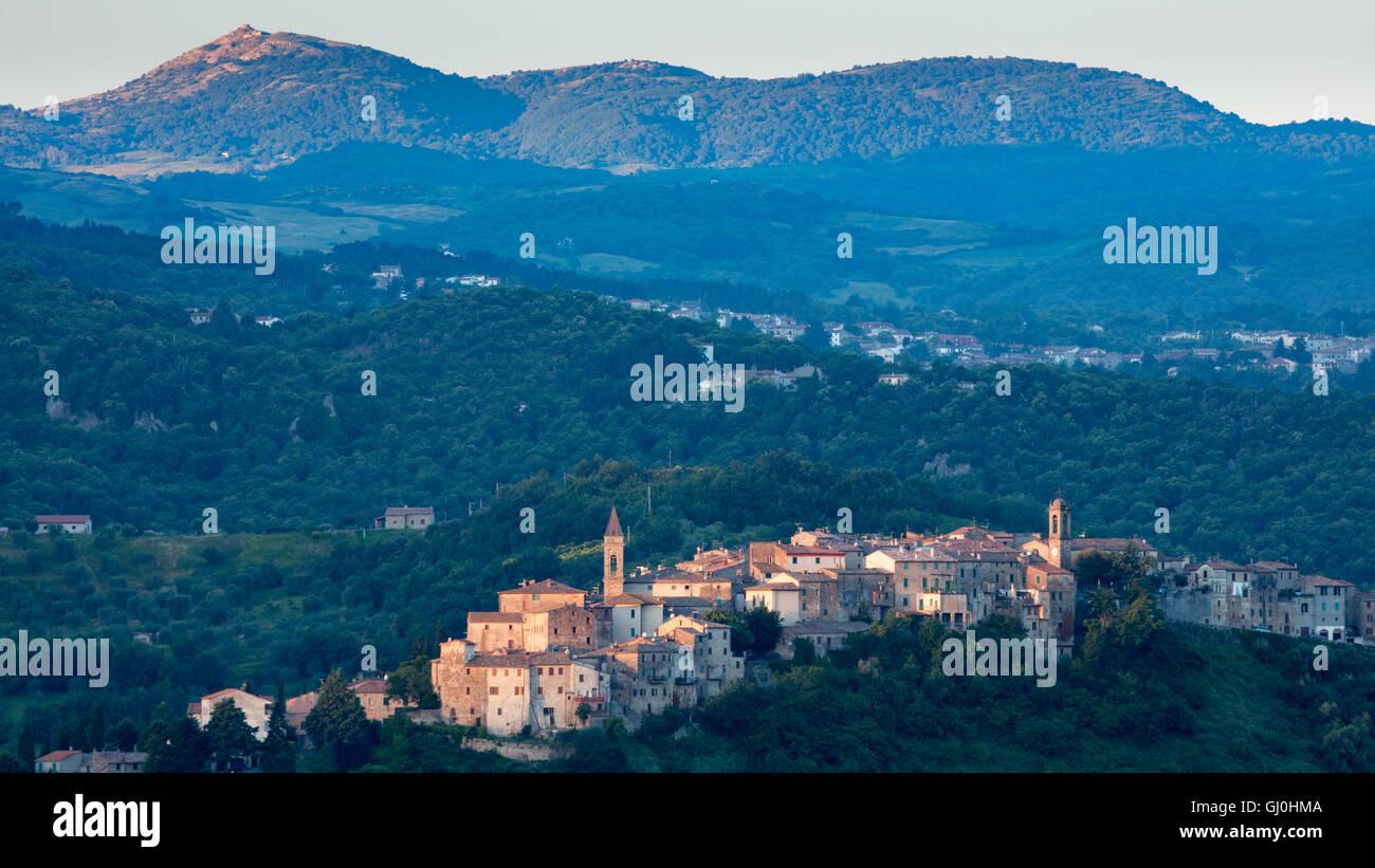 Seggiano, Province of Grosseto, Tuscany, Italy - Stock Image