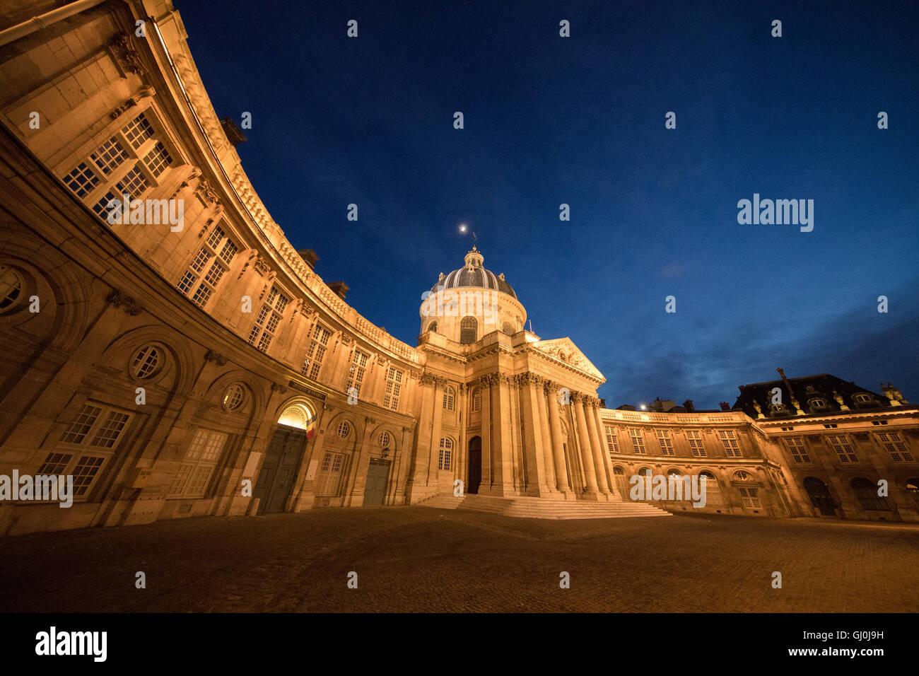 the Acadamie des Beaux-Arts, Institut de France, Paris, France - Stock Image
