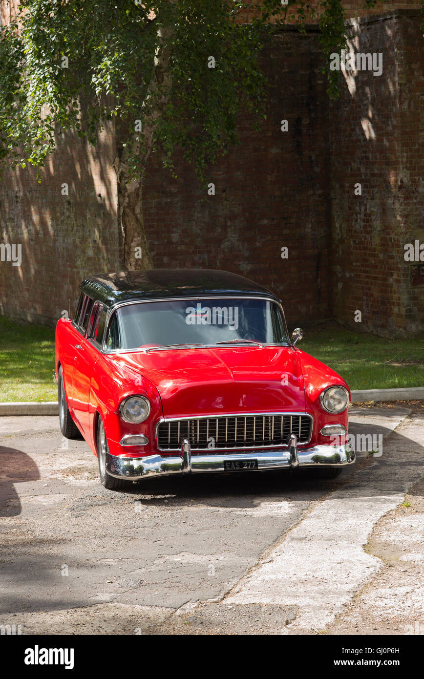 All Chevy 1955 chevrolet nomad : 1955 Chevrolet Nomad. Classic American car Stock Photo, Royalty ...