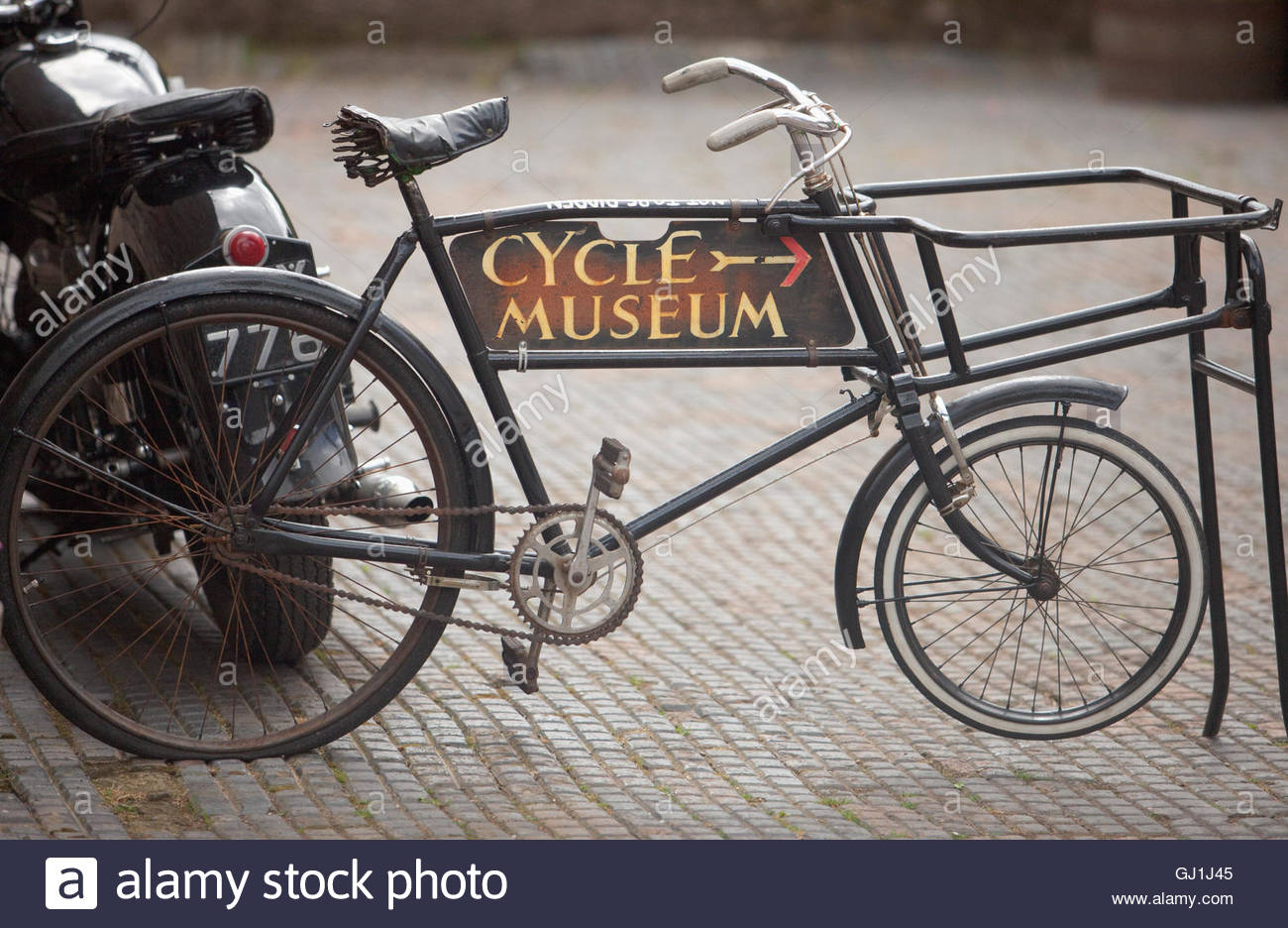 The Scottish Cycle Museum at Drumlanrig Castle, near Thornhill, Dumfries and Galloway, Scotland - Stock Image