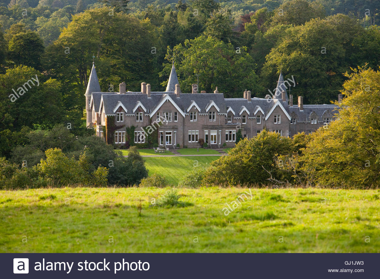 Ballathie Country House Hotel, Kinclaven, Perthshire, Scotland. - Stock Image