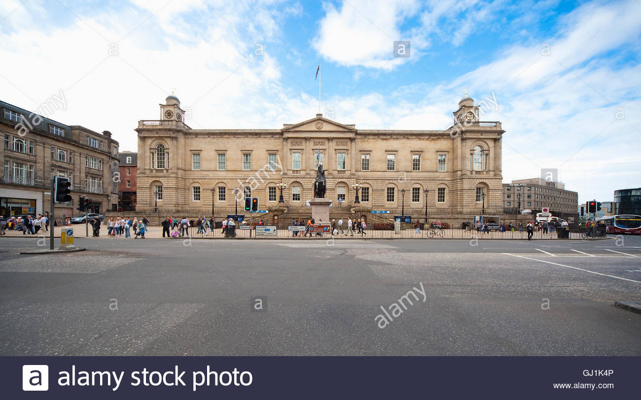 General Register House - The National Archives of Scotland and Scotlands People Centre, Edinburgh,  Scotland. - Stock Image
