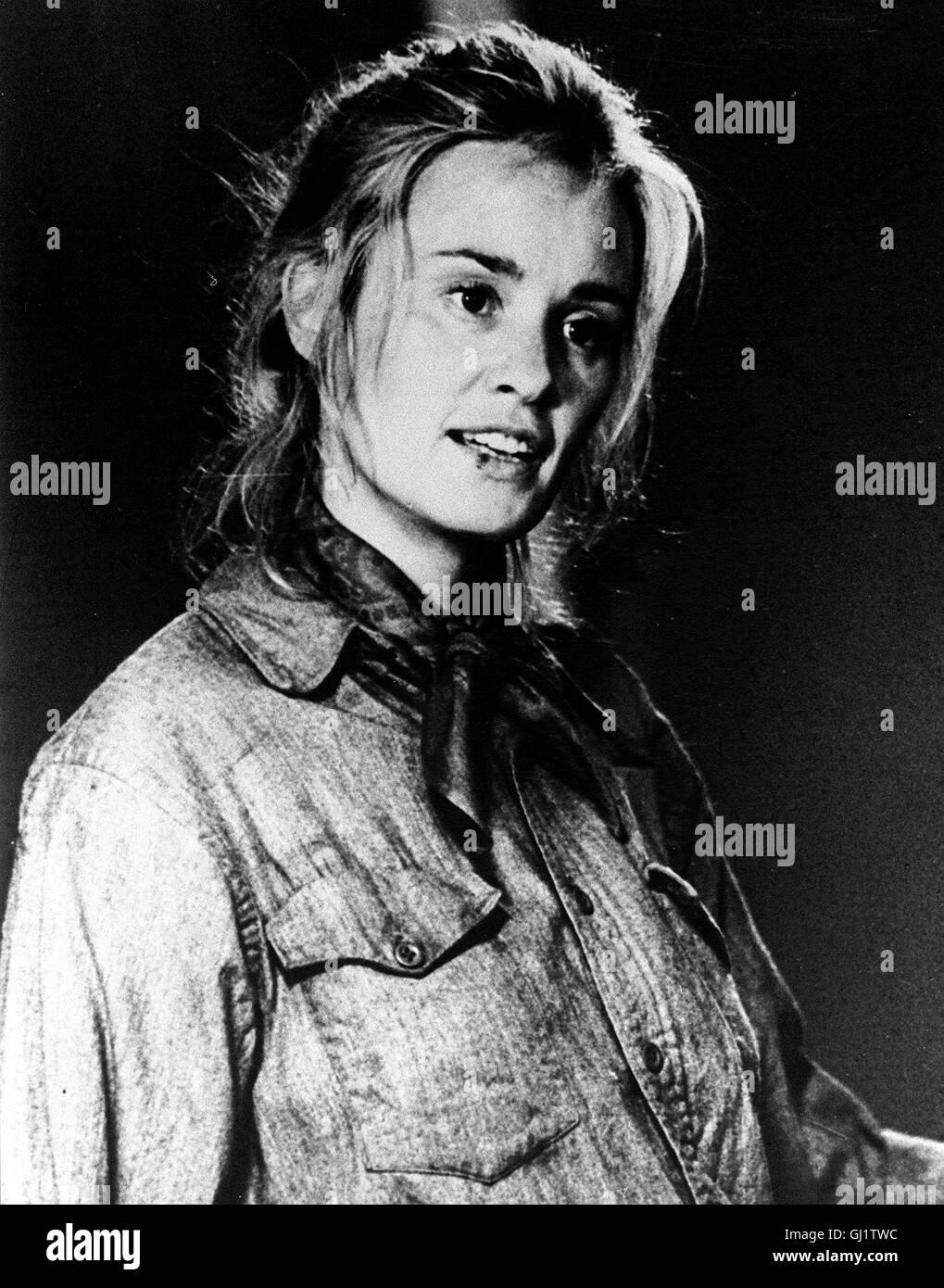 FRANCES -  Der Film erzählt die Lebensgeschichte der Hollywood-Schauspielerin Frances Farmer: Frances (gespielt Stock Photo