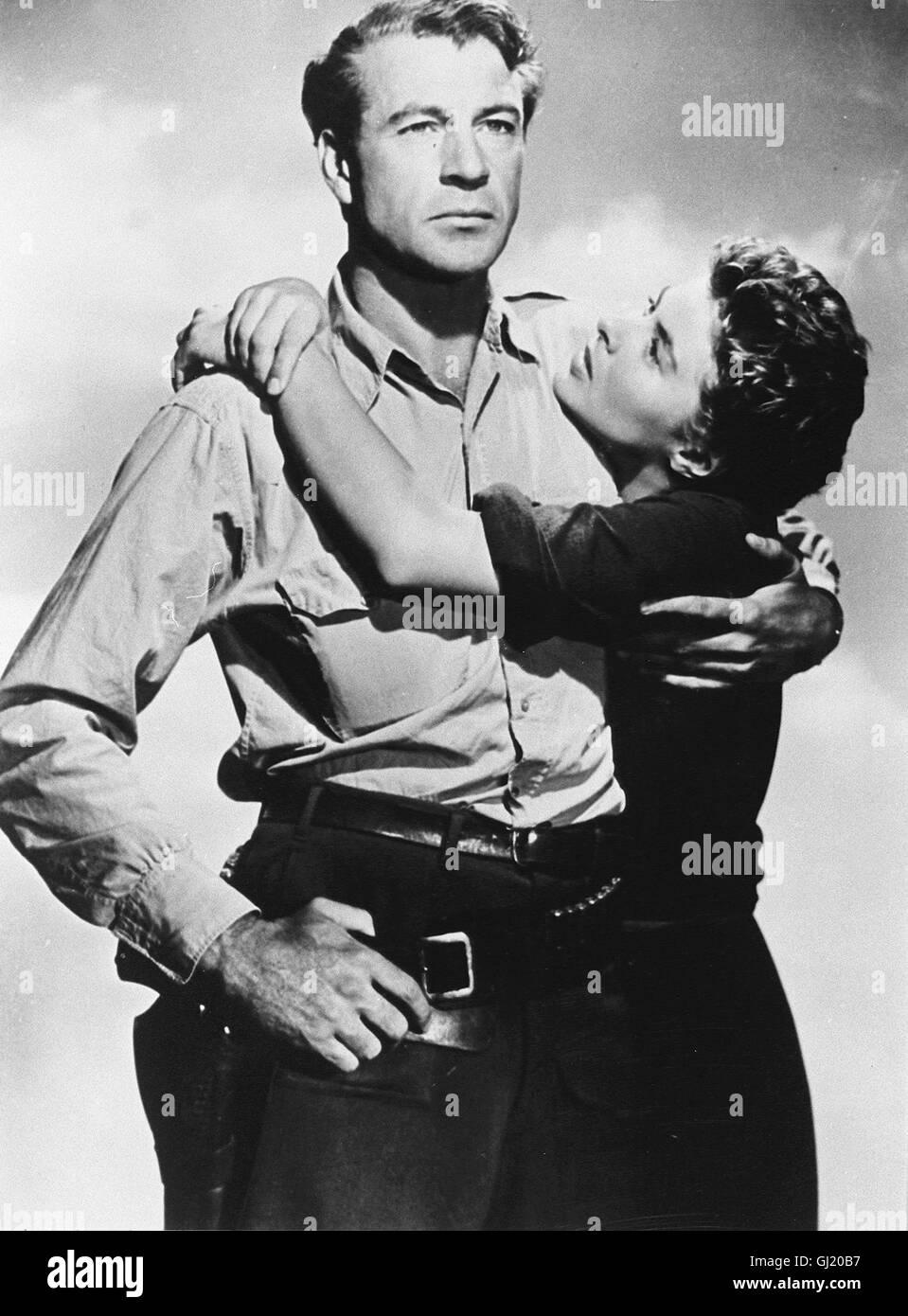 Wem die Stunde schlägt For whom the bell tolls USA 1943 - Sam Wood GARY COOPER, INGRID BERGMAN 1443 Regie: - Stock Image