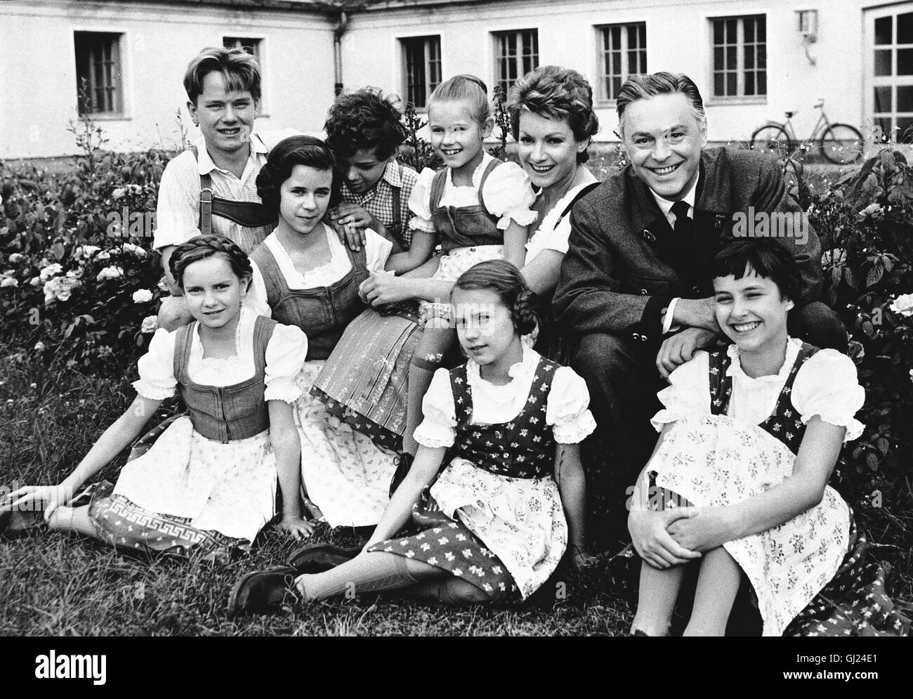 Trapp Familie High Resolution Stock Photography And Images Alamy
