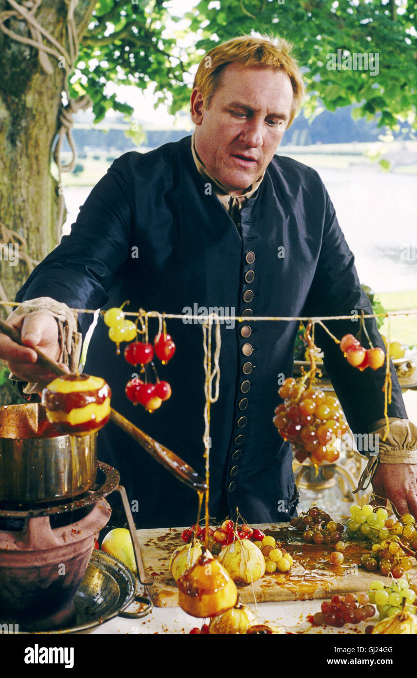 VATEL Für Francois Vatel (GERARD DEPARDIEU) steht bei der Ausrichtung eines Festes für den Sonnenkönig Ludwig XIV. Stock Photo