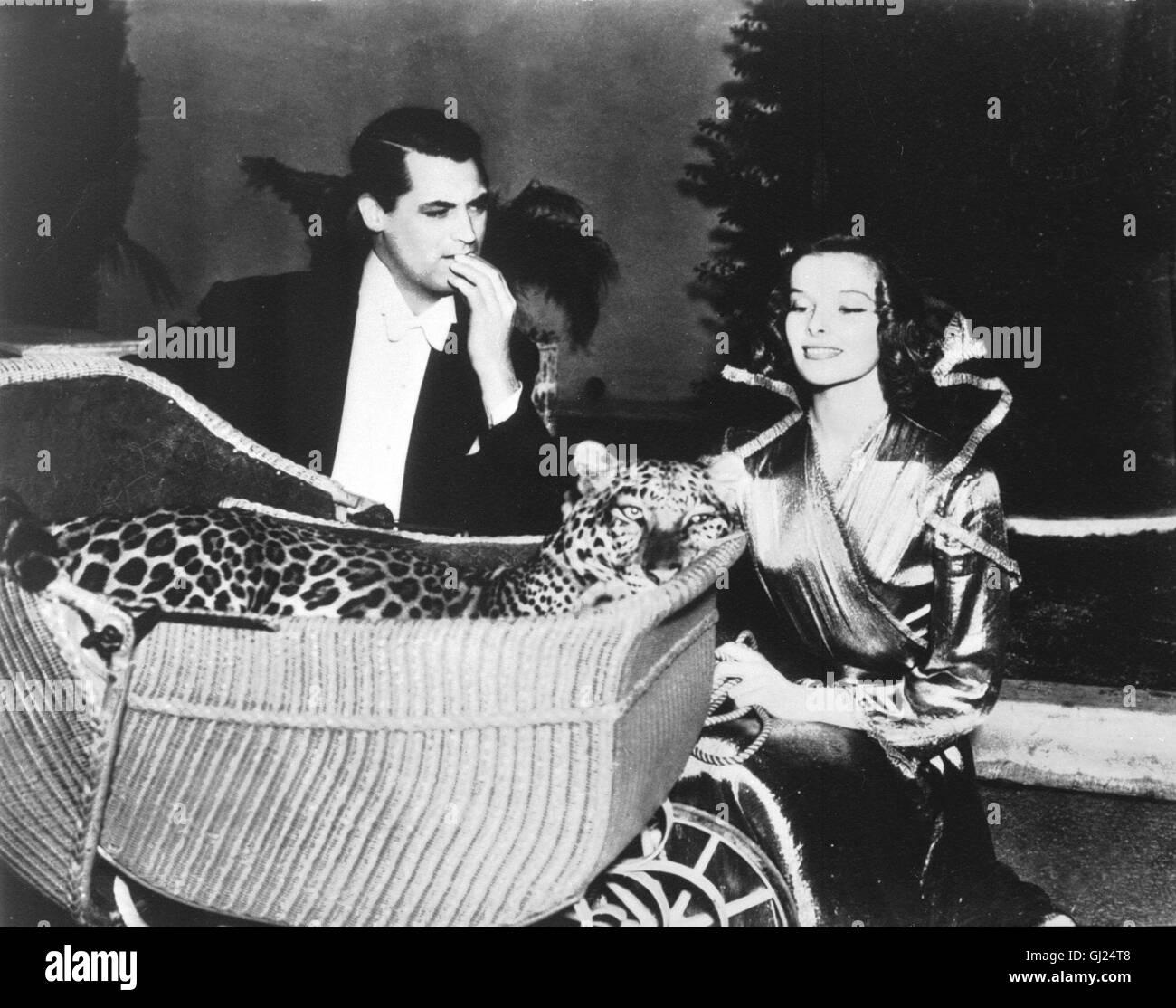 LEOPARDEN KÜSST MAN NICHT Bringing up Baby USA 1938 - Howard Hawks In dieser herrlichen Screwball-Comedy brilliert Stock Photo
