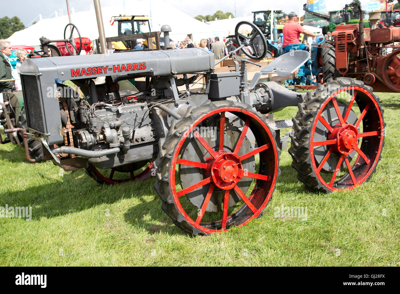Vintage Front Wheel Drive Tractors : Massey harris gp early wheel drive vintage tractor