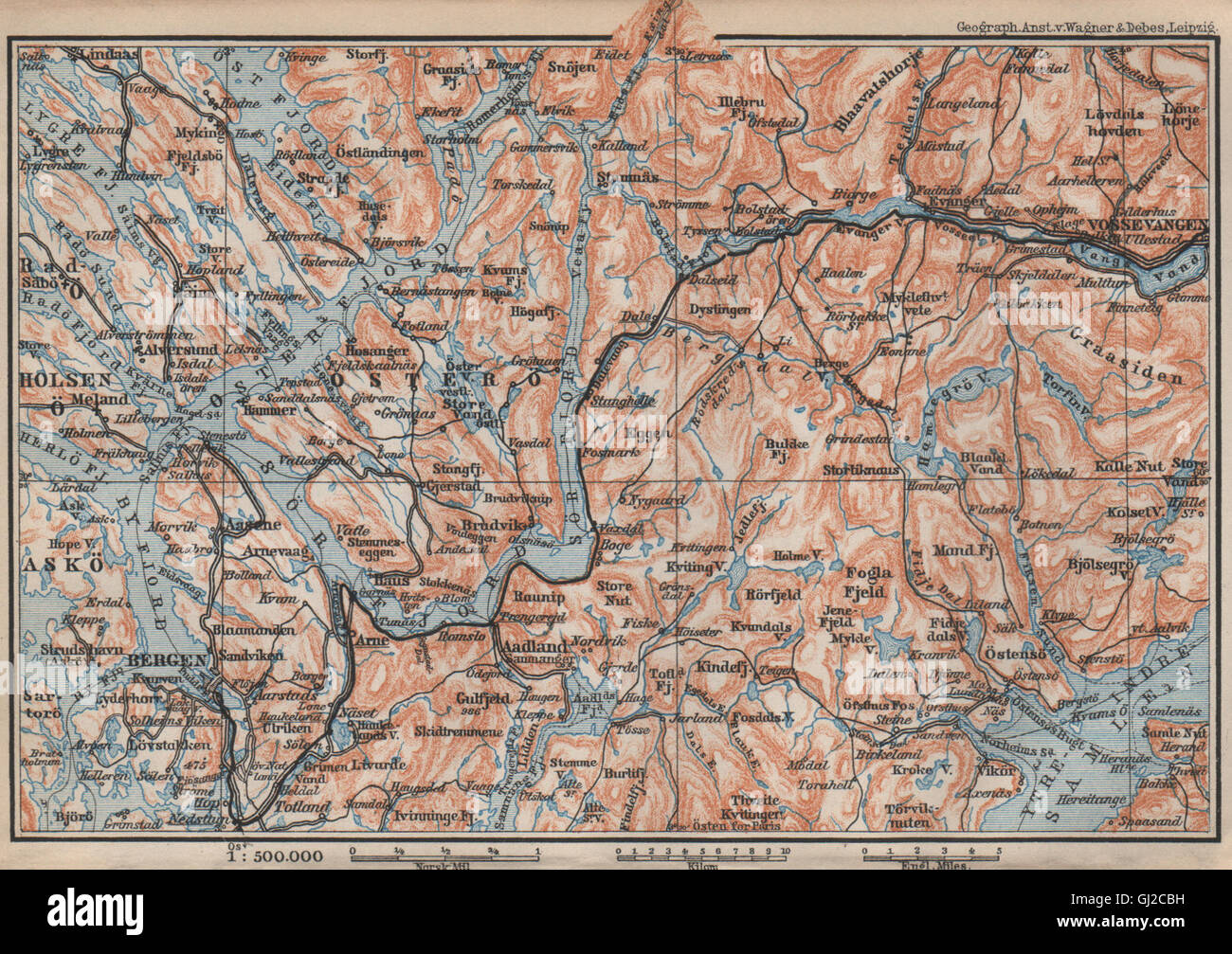 Karta Syd Norge.Map Norway Sweden 1899 Stock Photos Map Norway Sweden 1899 Stock