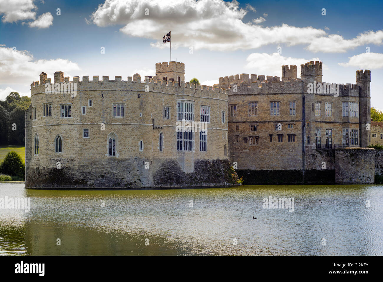 Leeds Castle - Stock Image