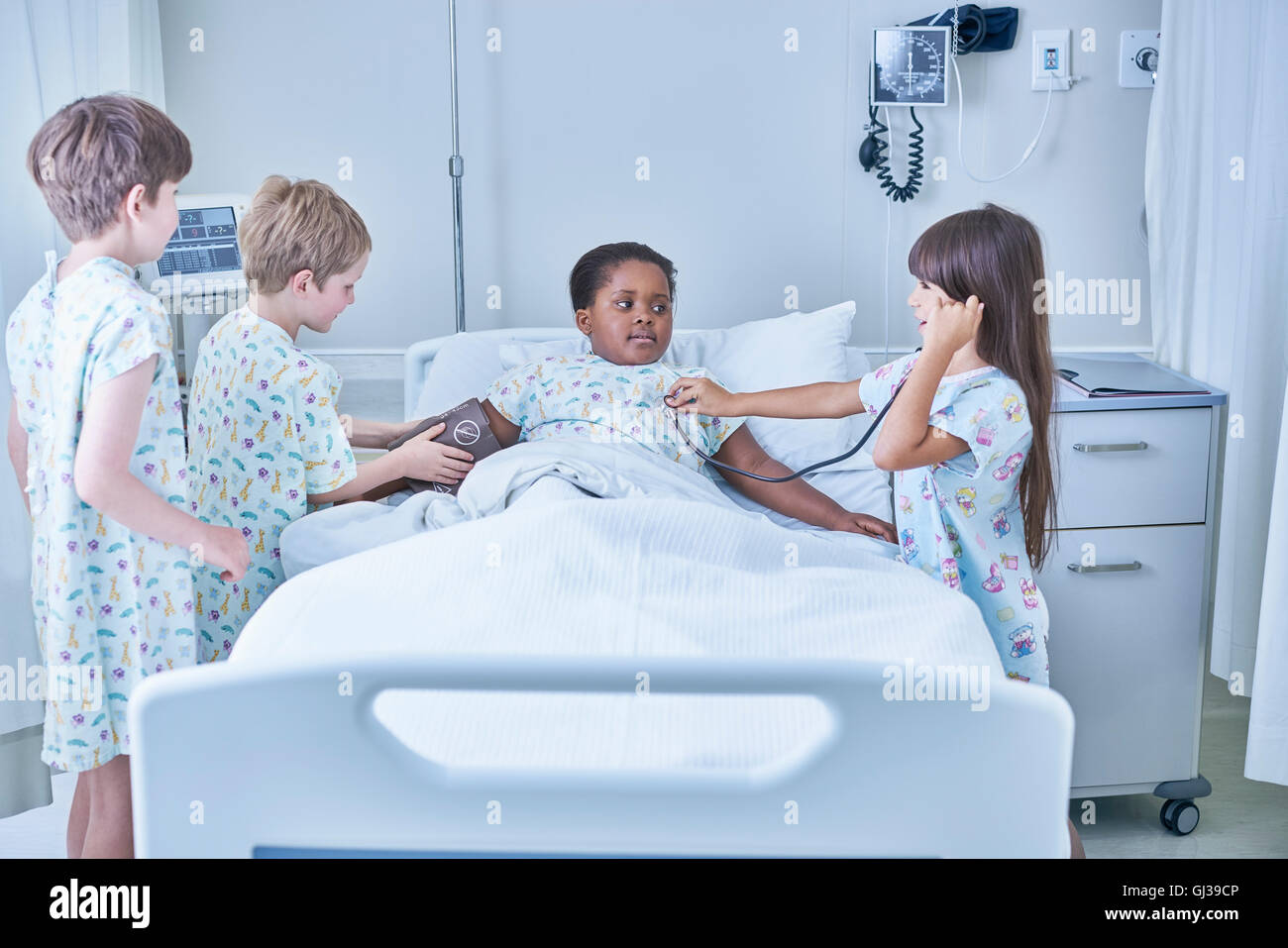 friend in hospital