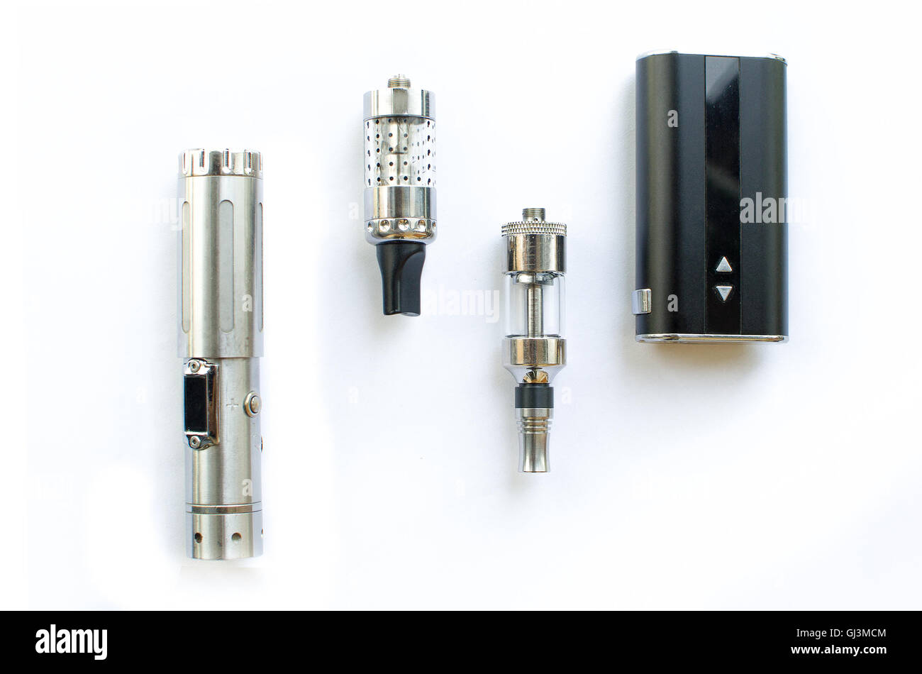Electronic Cigarettes big battery - Stock Image