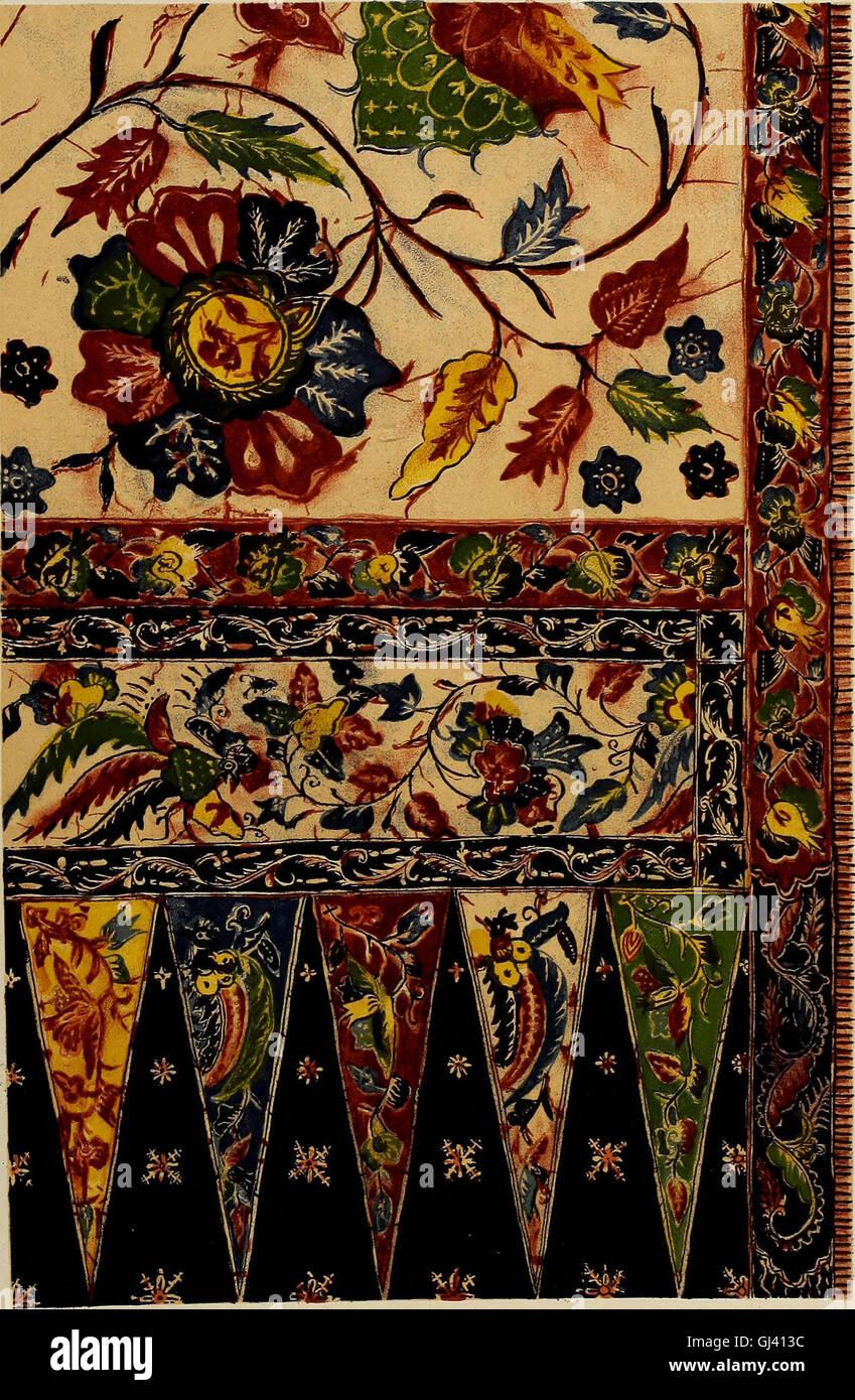 De inlandsche kunstnijverheid in Nederlandsch IndiC3AB (1912) Stock Photo