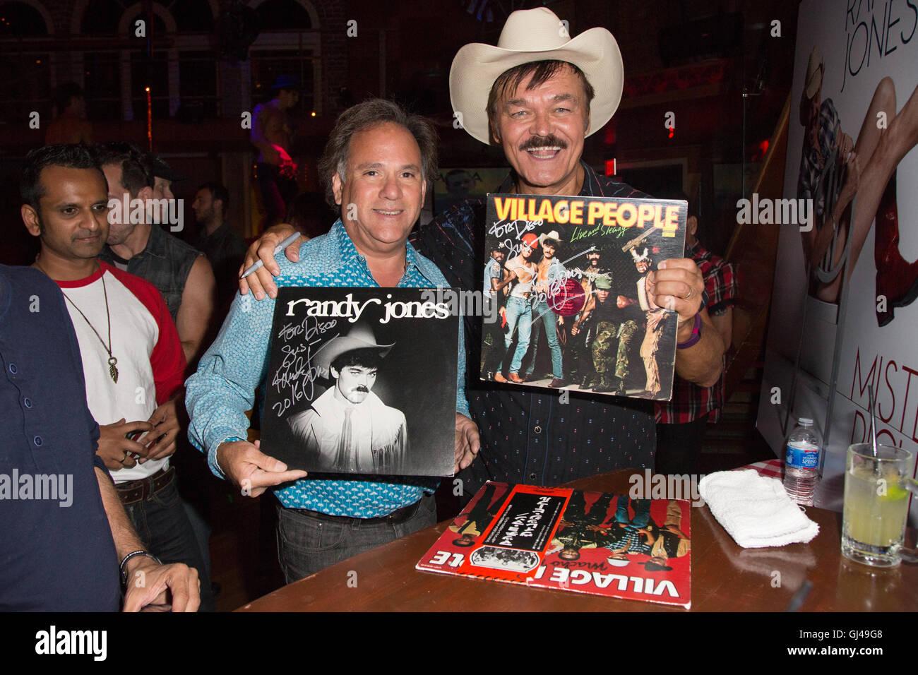 West Hollywood, California, USA. 11th August, 2016. Music artist/actor Randy Jones, original member of the Village Stock Photo