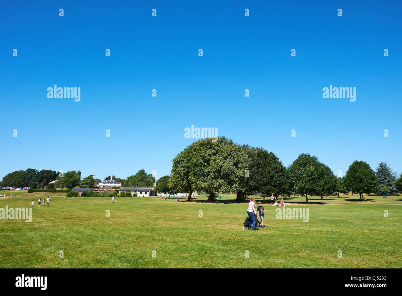 Wicksteed Park Kettering Northamptonshire UK - Stock Image