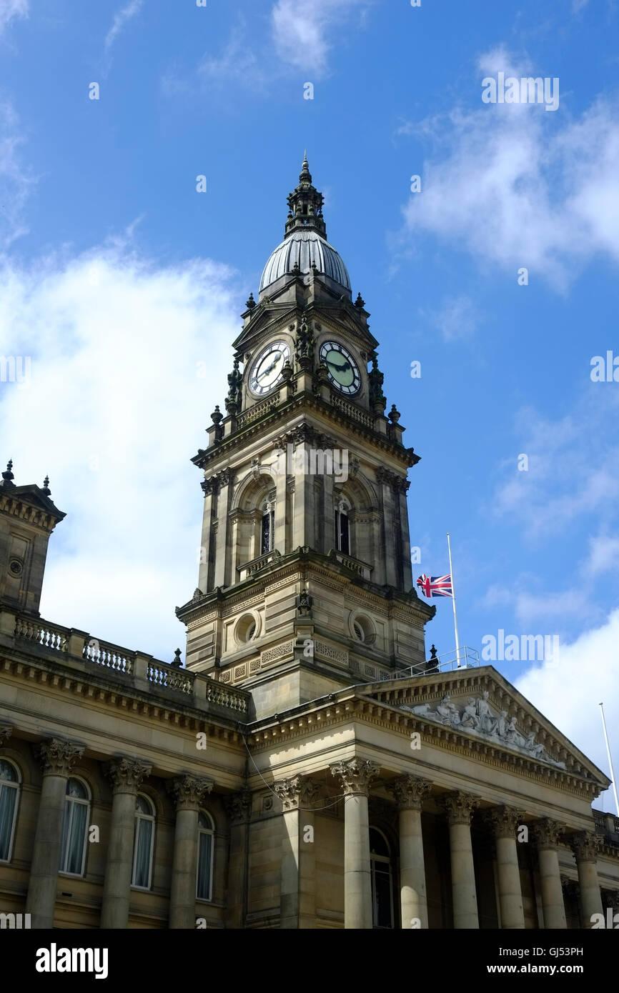 Bolton Town Hall - Stock Image