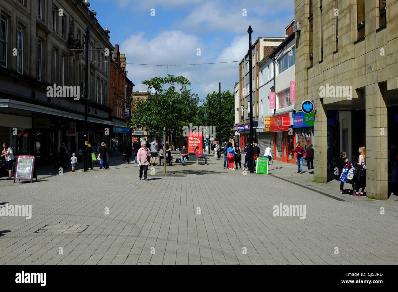 Bolton shopping centre. - Stock Image