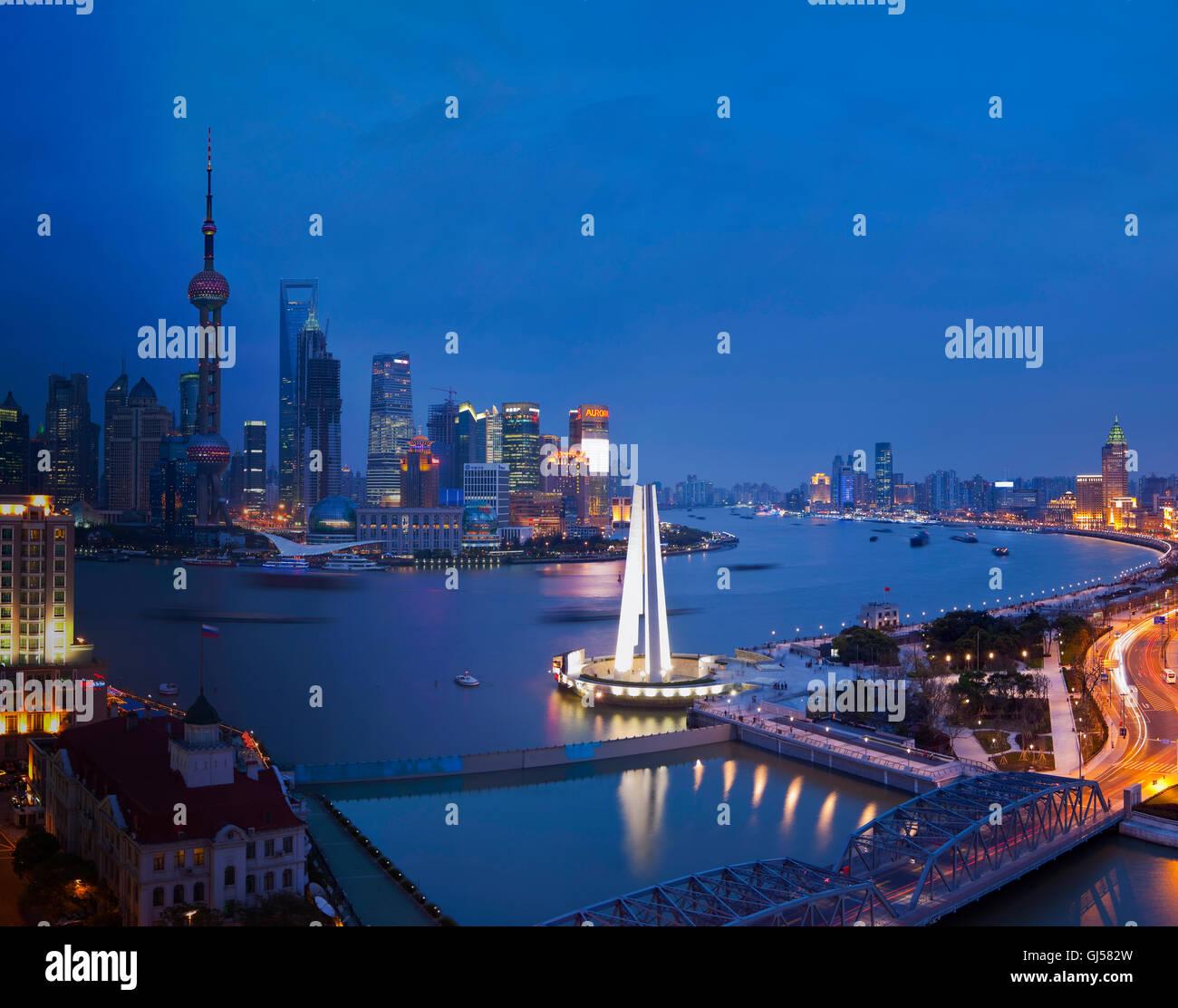 Shanghai Bund - Stock Image
