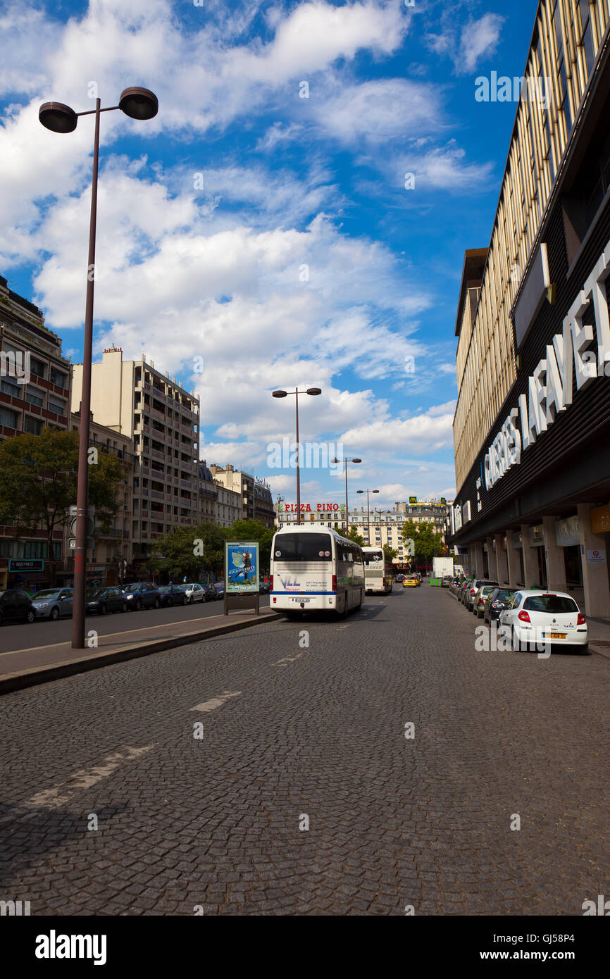 France Paris cityscape - Stock Image