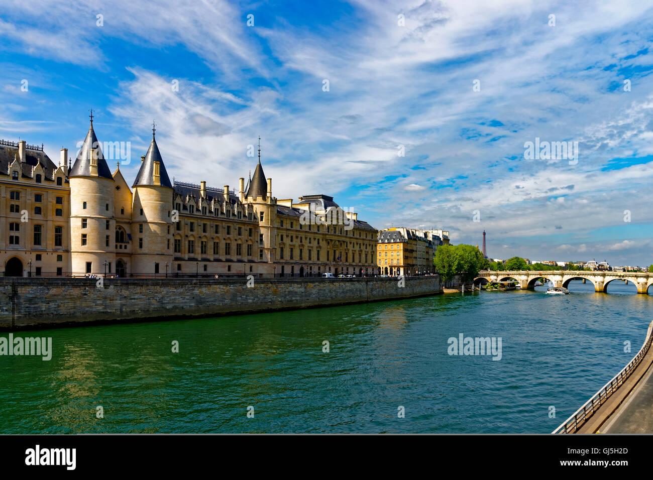 Cour de Cassation, Paris, France - Stock Image