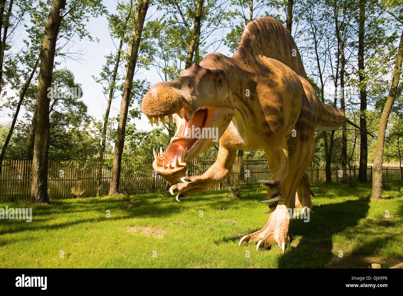 Spinosaurus aegyptiacus - Stock Image