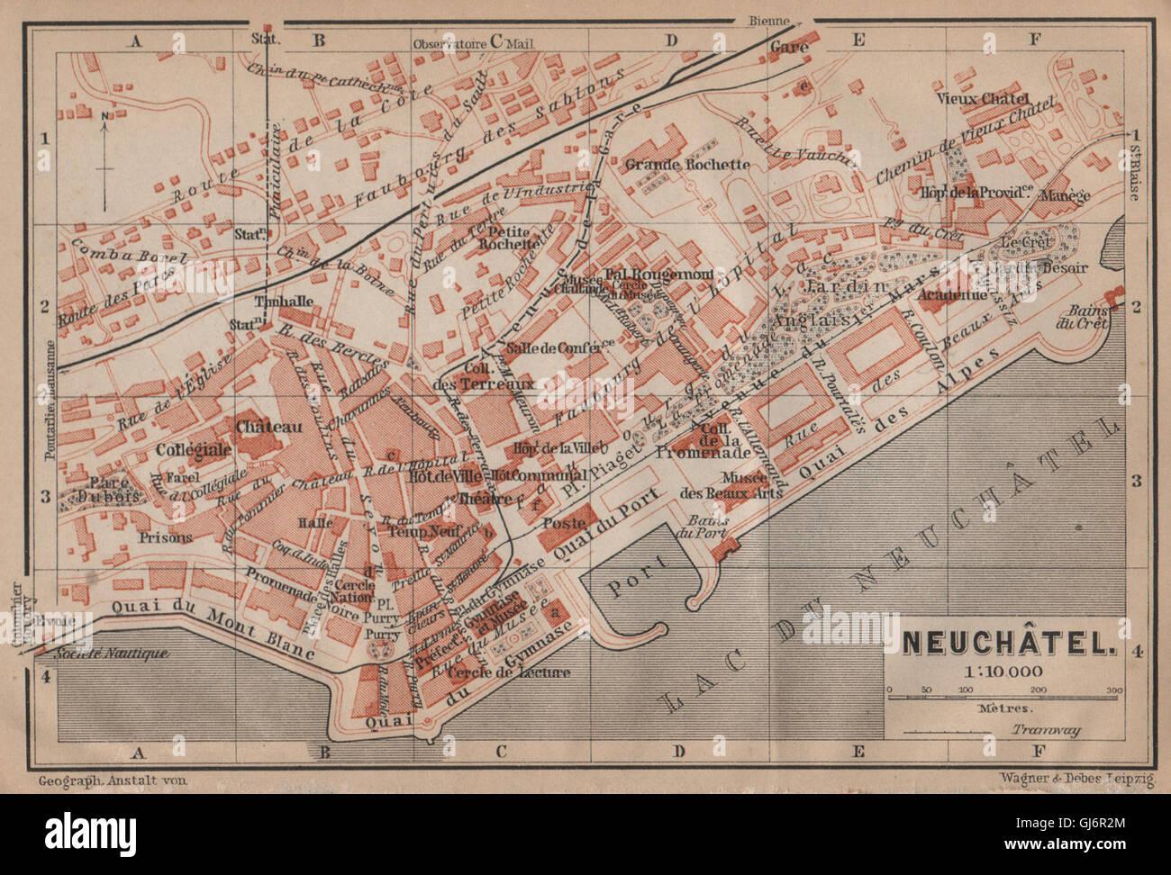 Neuchatel Map Stock Photos Neuchatel Map Stock Images Alamy