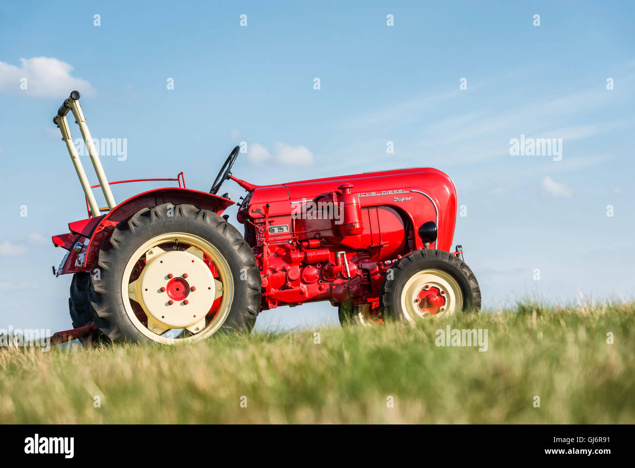 Breuberg, Hessen, Germany, Porsche Diesel 308 super, year of manufacture 1961, 38 HP, cubic capacity 2467, total - Stock Image