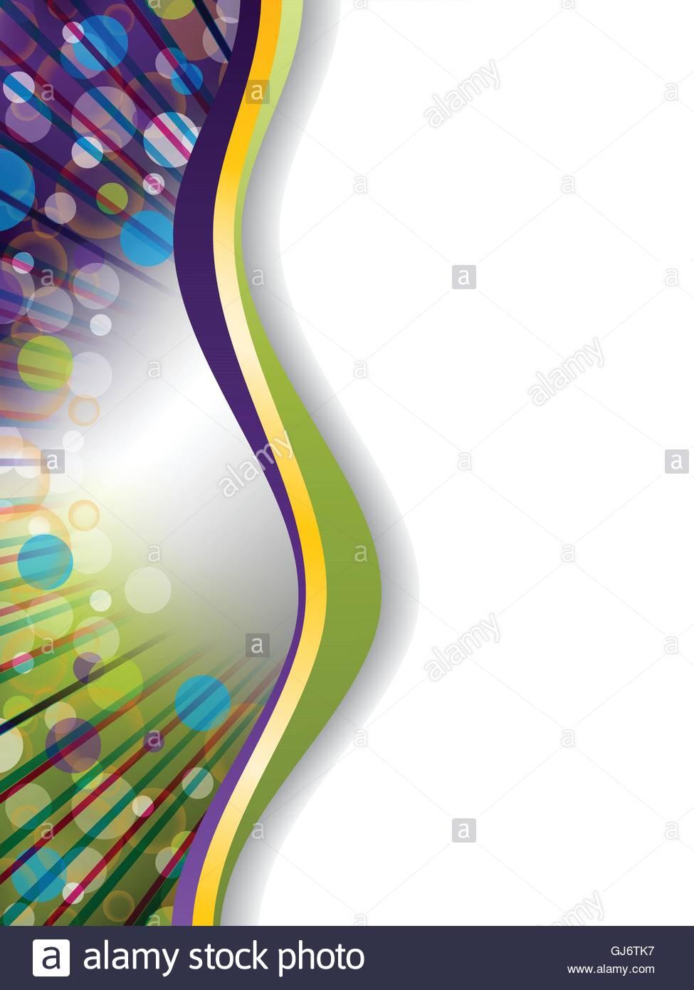 Abstract Brochure Background Design Stock Vector Art