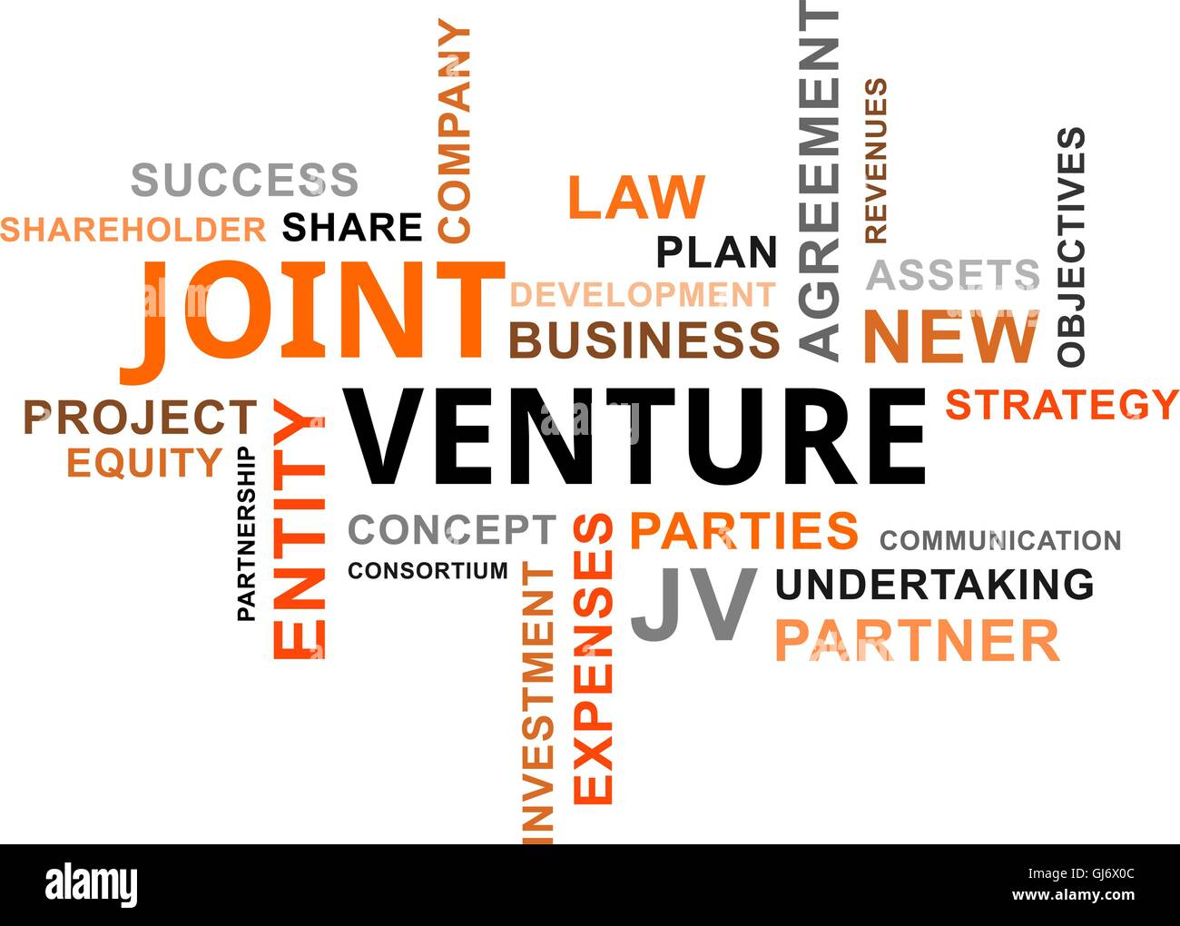 Joint Venture Stock Vector Images Alamy