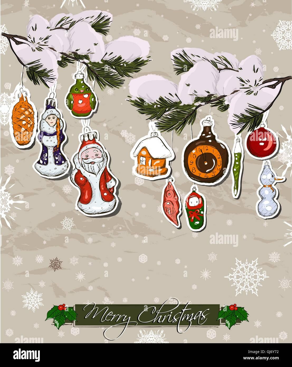 Vintage Glass Icicles Christmas Tree Stock Photos & Vintage Glass ...
