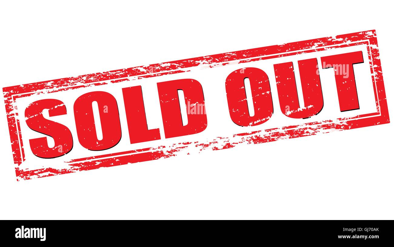 Sold Out Symbol High Resolution Stock Photography And Images Page 8 Alamy