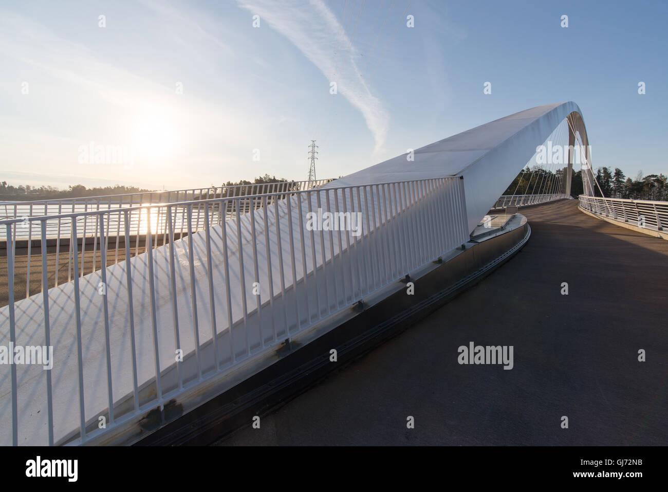 Isoisänsilta Kalasatamasta Mustikkamaalle - Stock Image
