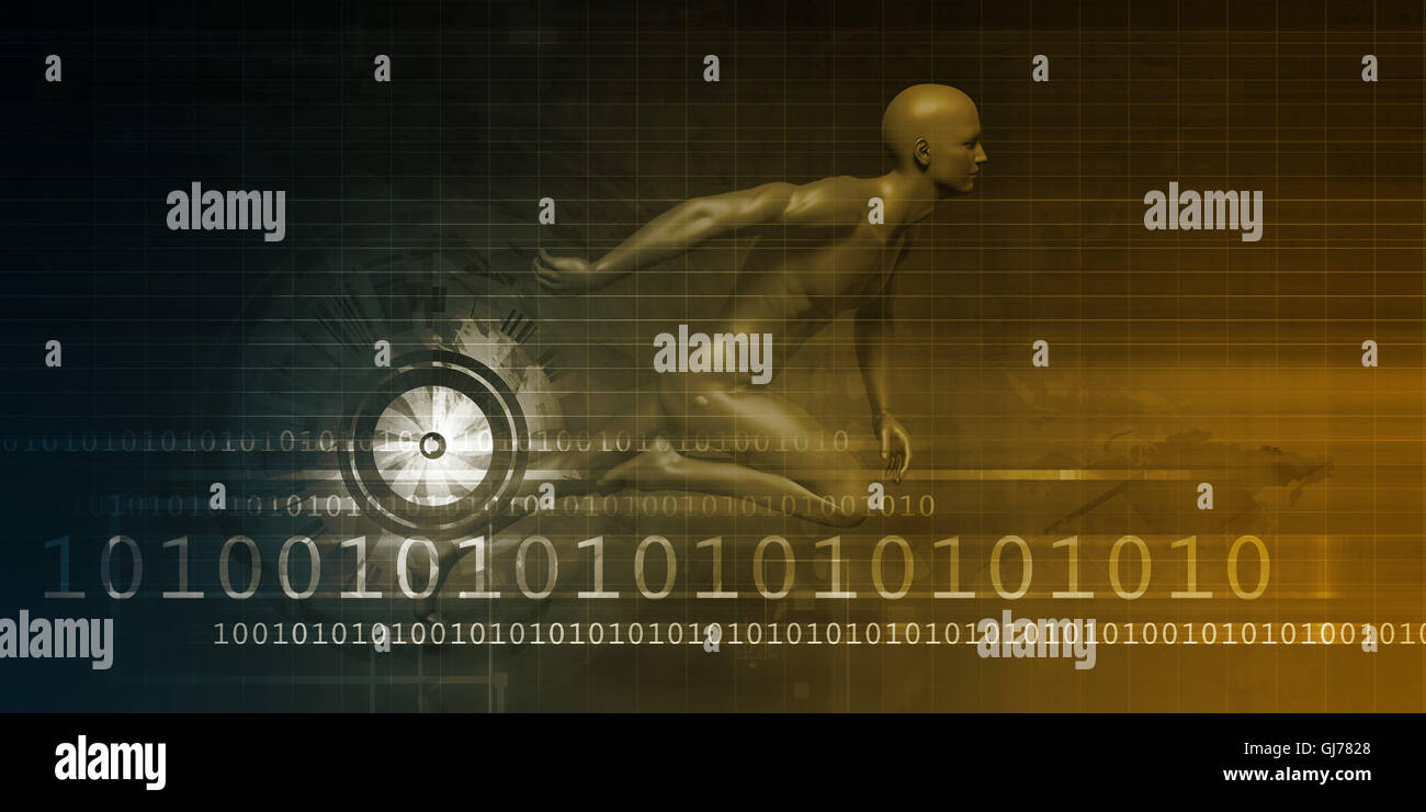Digital Marketing Technologies and Fast Paced Results Concept - Stock Image