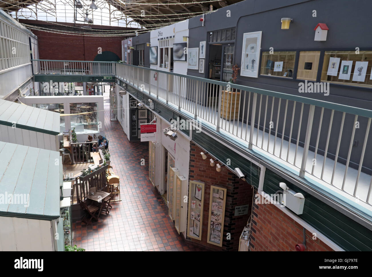 Manchester Craft and Design Centre, 17 Oak St, Manchester, UK M4 5JD - Stock Image