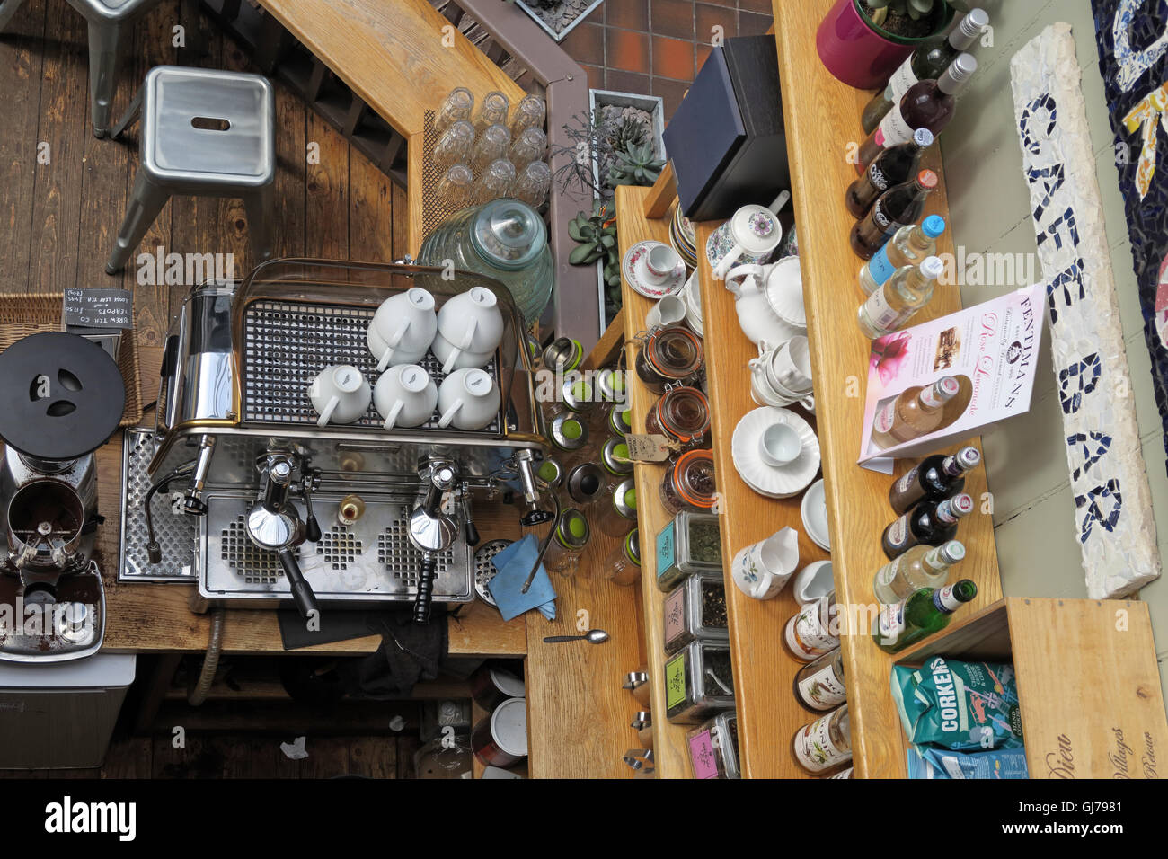 Manchester Craft and Design Centre Cafe, 17 Oak St, Manchester, UK M4 5JD - Stock Image
